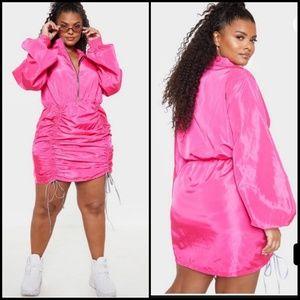 PLT + zip runch dress
